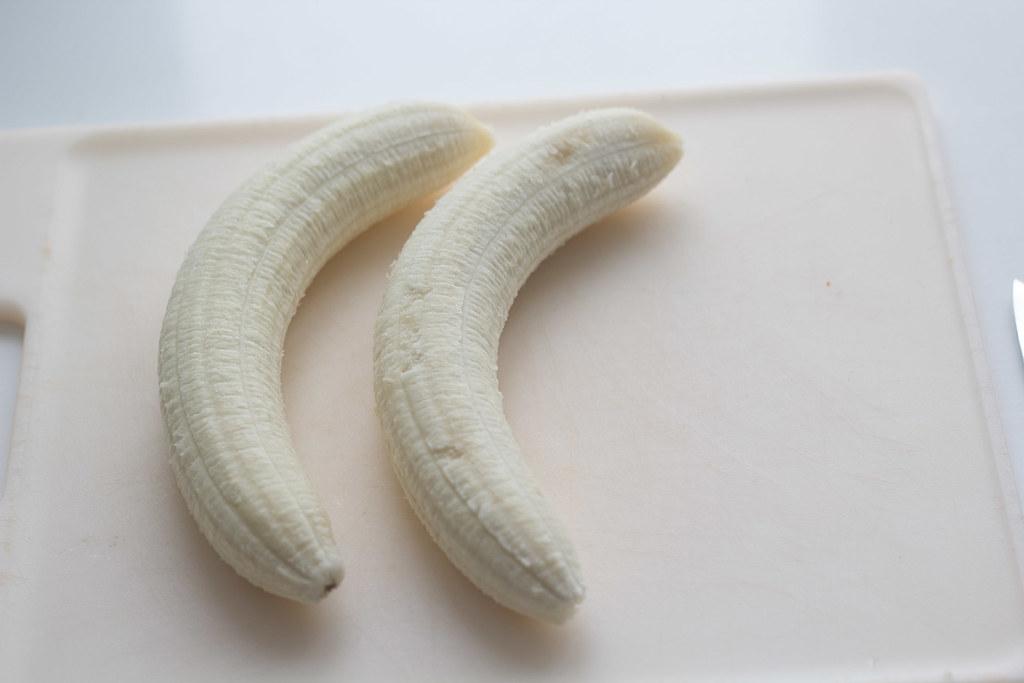 opskrift på hjemmelavede bananis med chokolade