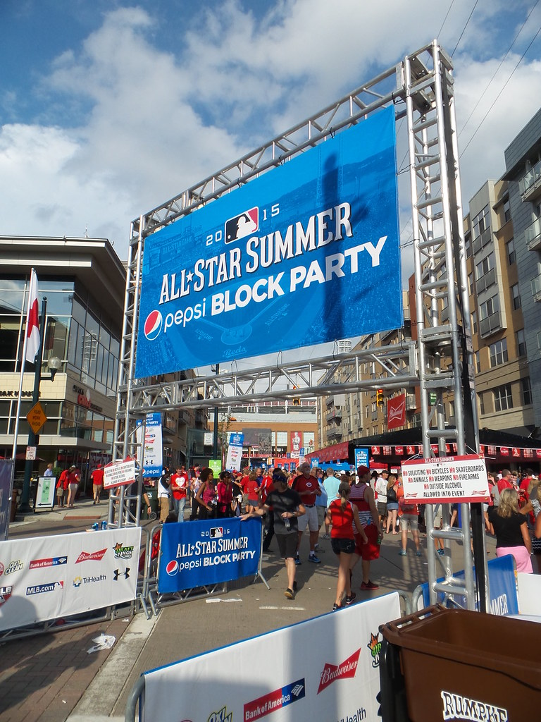MLB All-Star Summer Pepsi Block Party