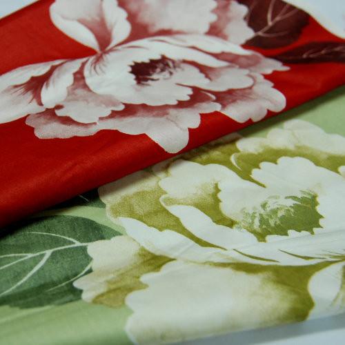 暮色煙華  精梳棉床品床單布料 CA490257