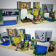 Added some landscapes #lego #legofriends #legodisney #bulat #bulatlego #legostagram #brickcentral #bruneibricks #legocity #brickstagram #afol #legoarchitecture #legoafol #eurobricks #brickart #legoart #legomoc #legodisplay #brickshelf #worldofbricks #bric