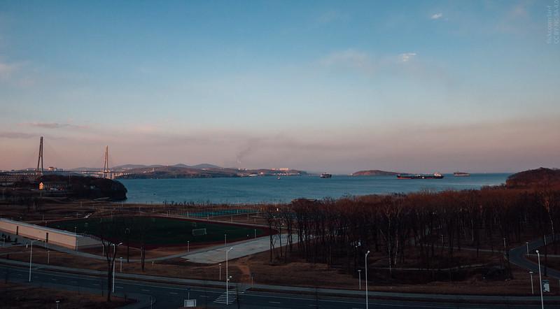 Russky Island, Ajax Bay, Vladivostok
