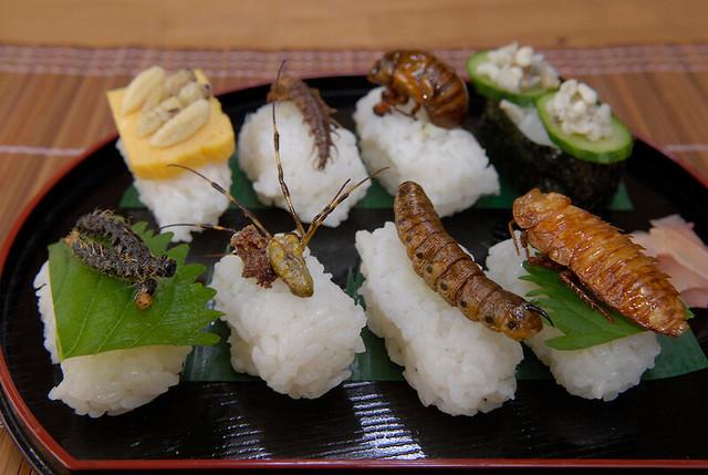 Sushi không hải sản