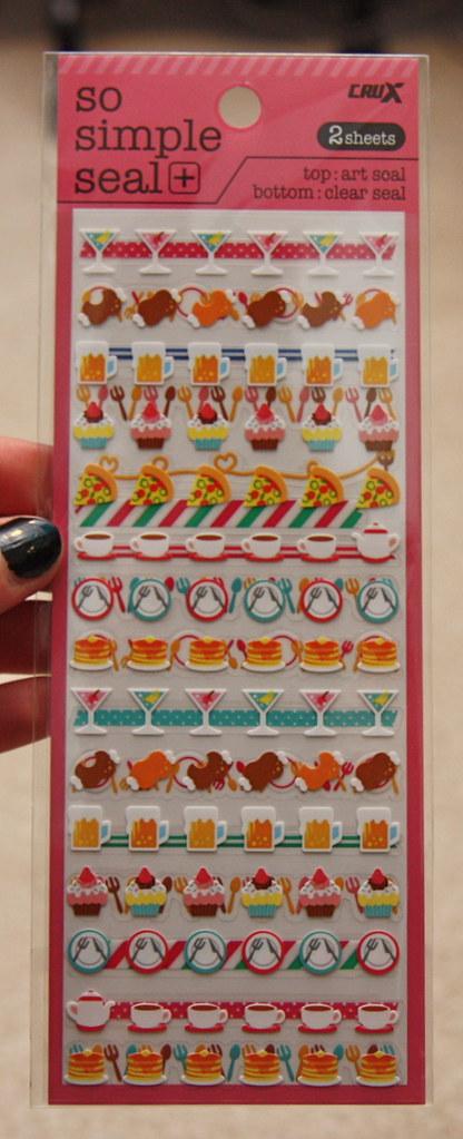 Artbox crux stickers