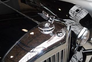Antique Bentley hood ornament