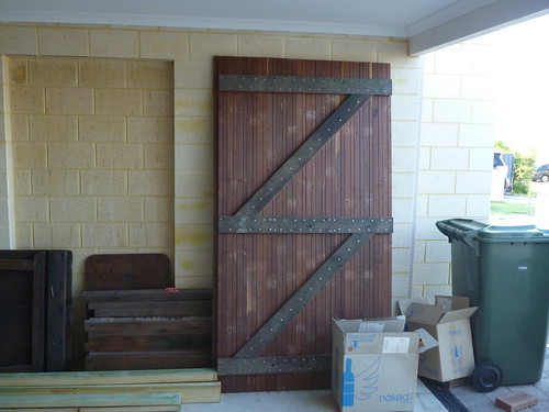 Both doors finished