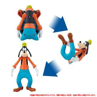 迪士尼角色變型蛋 「最新彈」高飛、黛絲鴨 好評續推!エッグスターズ グーフィー