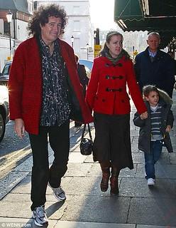 Brian May & Louisa May - 2009