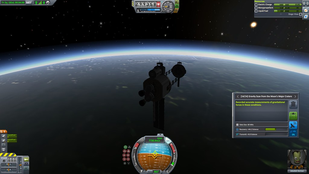 It only took 2 1/2 years, but Jeb and the RSN Antonio Vivaldi are returned to LEO