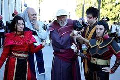 #TBT to #ALA trying to drink some tea together.  : @juiceboxphoto.  ____    #animelosangeles #animelosangeles2017 #avatarthelastairbender #avartar #Firenation #firebender #UncleIroh #Anime #zuko #azula #伝説の少年アンアバター #kawaii #cosplay #avatarcosplay #cosplay