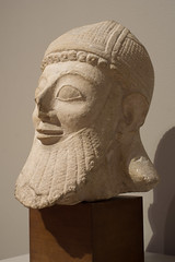 Head of a Votary from the Temple of Golgoi