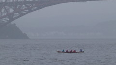 Midweek row in mist and rain