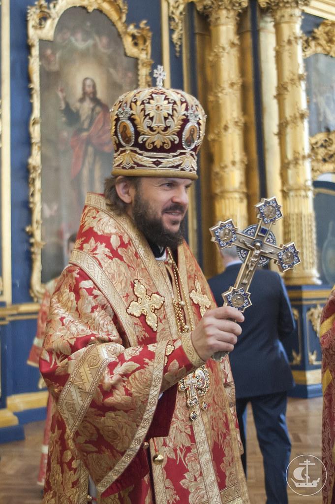 22 мая 2013, Литургия в день памяти свт. Николая Чудотворца в Николо-Богоявленском морском соборе