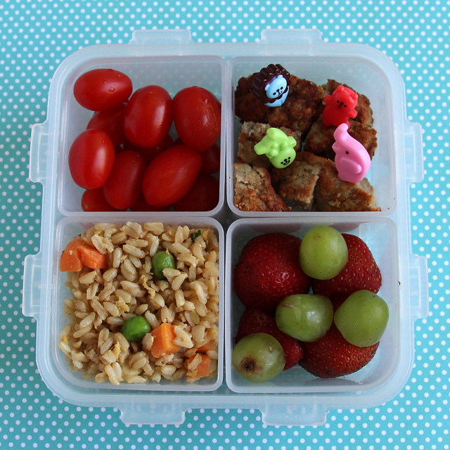 Preschooler Fried Rice Bento #449