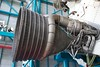 Saturn V F1 rocket engine bell