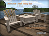 H&G Hunt Prize - [CIRCA] - Muskoka - Deck Sitting Set