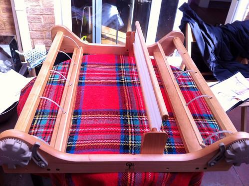 Loom assembled