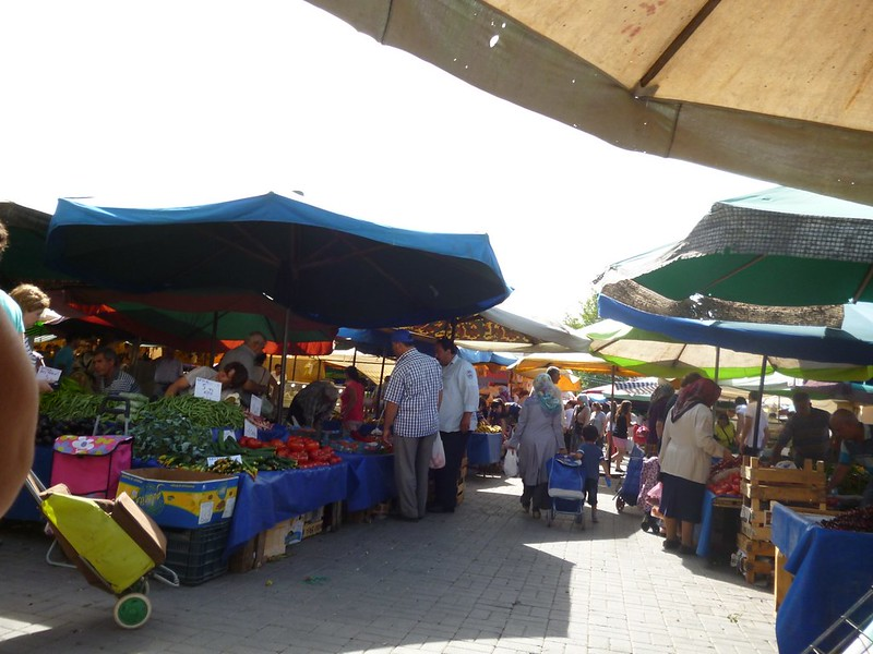Selcuk weekly market