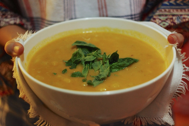 Apple-Carrot Soup