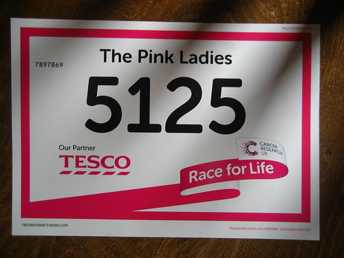 Race for Life number