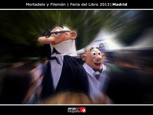 Mortadelo y Filemón | Feria del Libro 2013 | Madrid by alrojo09