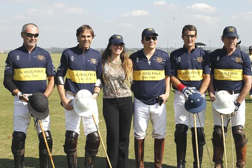 The members of the Boca Jrs. Polo Team after the ..