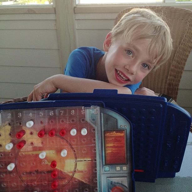 #Battleship on the deck with my buddy...