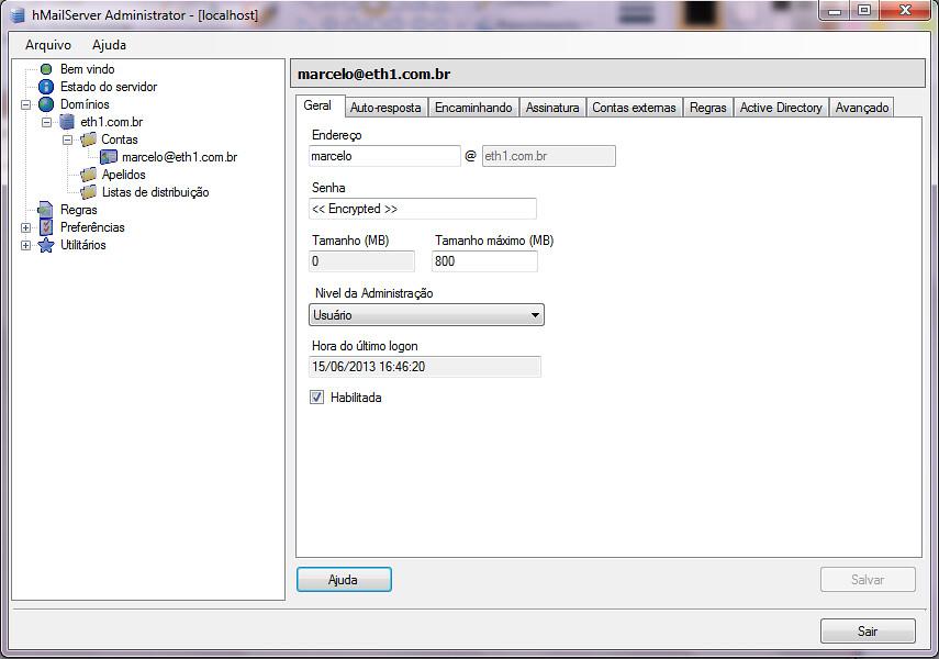 Tutorial] Implantando o RoundCube Webmail no hMailserver - Forumitbr
