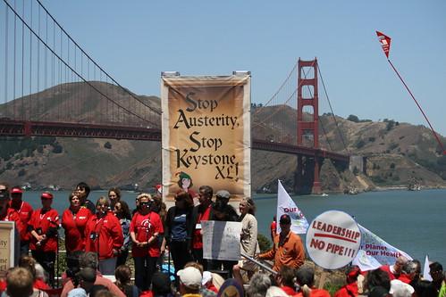 Stop Austerity Stop KeystoneXL