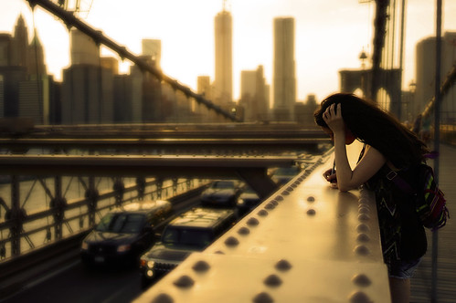 12 | 52 - Girl on the Brooklyn Bridge