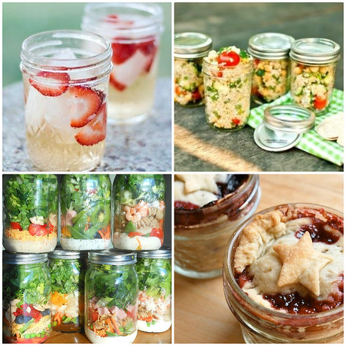 Mrs. Fields Secrets Mason Jar Picnic