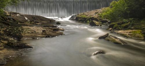 lake mountains river waterfall highlands stream dam north carolina sequoyah cullasaja