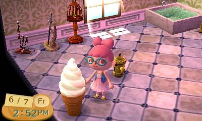 Soft-serve lamp, strawberry swirl - a photo on Flickriver