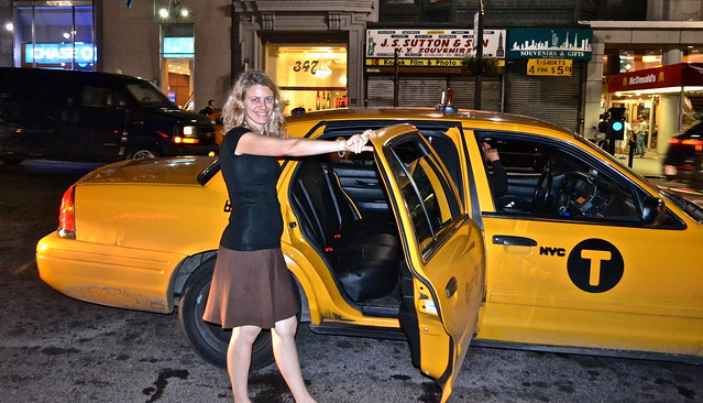 yellow cab NYC