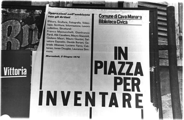 1976 Riappropriazione Cava Manara
