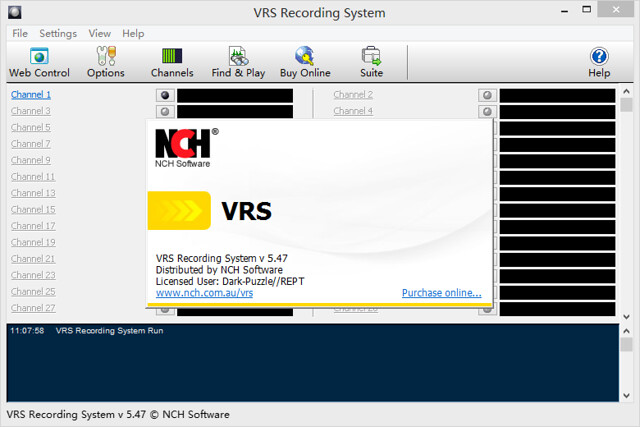 NCH Software VRS Recording System v5.47
