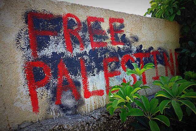 Free Palestine Sign