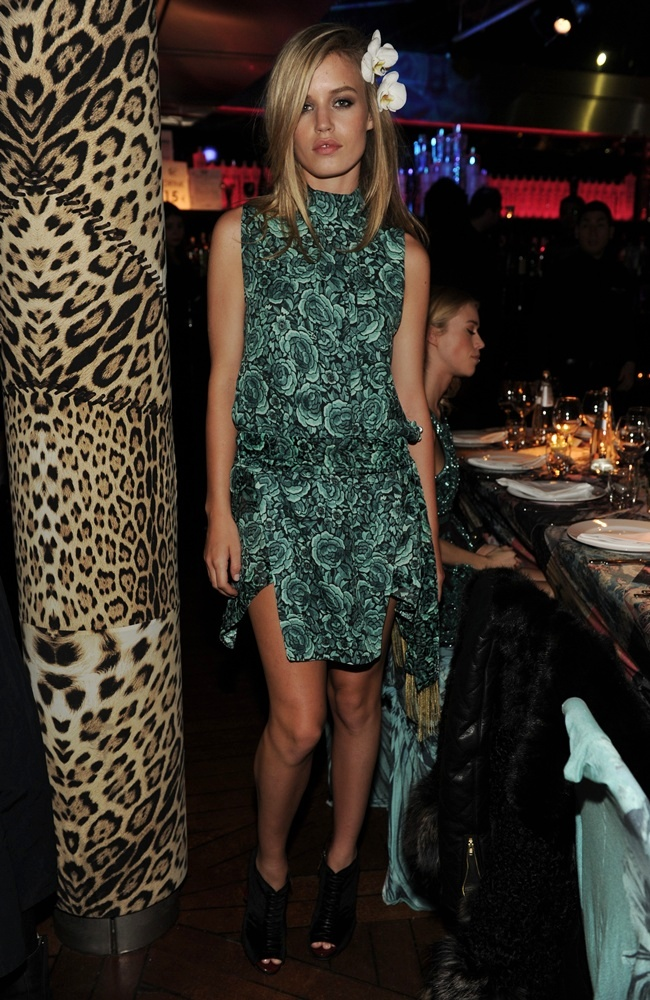 1 Georgia May Jagger in Just Cavalli @ Just Cavalli private dinner  Milan