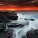 Portstewart sunset by Stepbel1