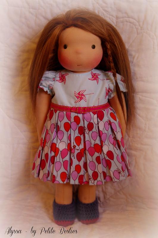 "Alyssa 16"" Petite Besties Doll"
