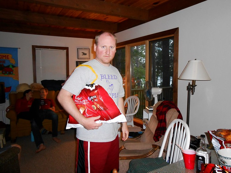 Jeff and his Dorito Purse