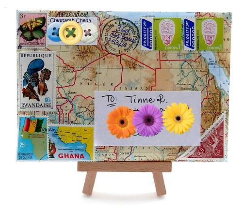 Mail Art Bonus 2013-369 front by Miss Thundercat