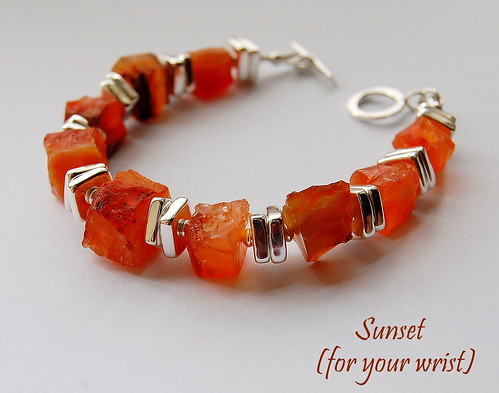 Sunset Bracelet by gemwaithnia