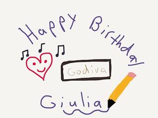 Birthday Wishes Doodle