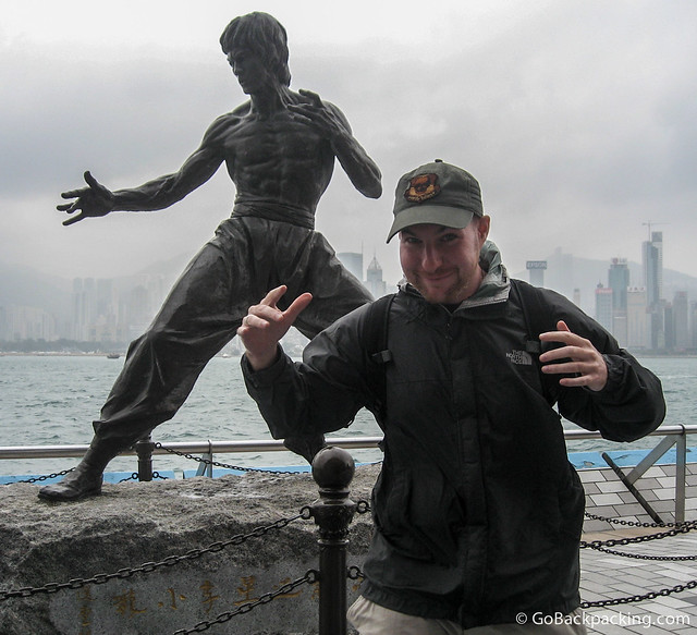 My best Bruce Lee impersonation