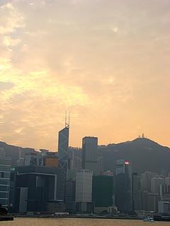 56 Uitzicht Victoria Harbour richting Hong Kong Island