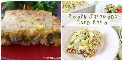 BeforeAfter Beefy Jalapeno Corn Bake Collage