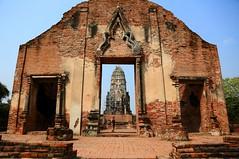 空門  Gate ~ Wat Ratburana, Ayutthaya  大城,拉布拉那寺 ~