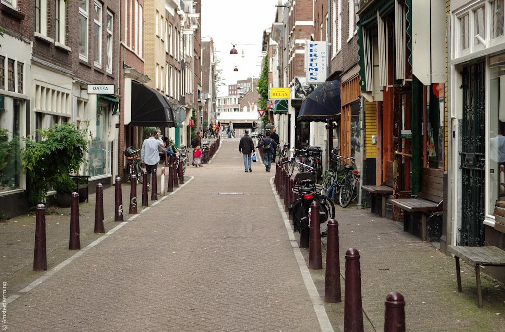 Amsterdam, Side Street of Haarlemmerdijk