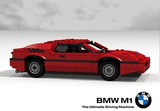 BMW M1 Supercar - 1976