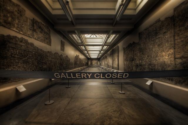 Gallery closed